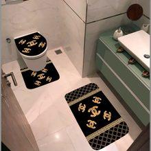 Banyo takımı üçlü, bir kalite marka, banyo paspası MARKALI