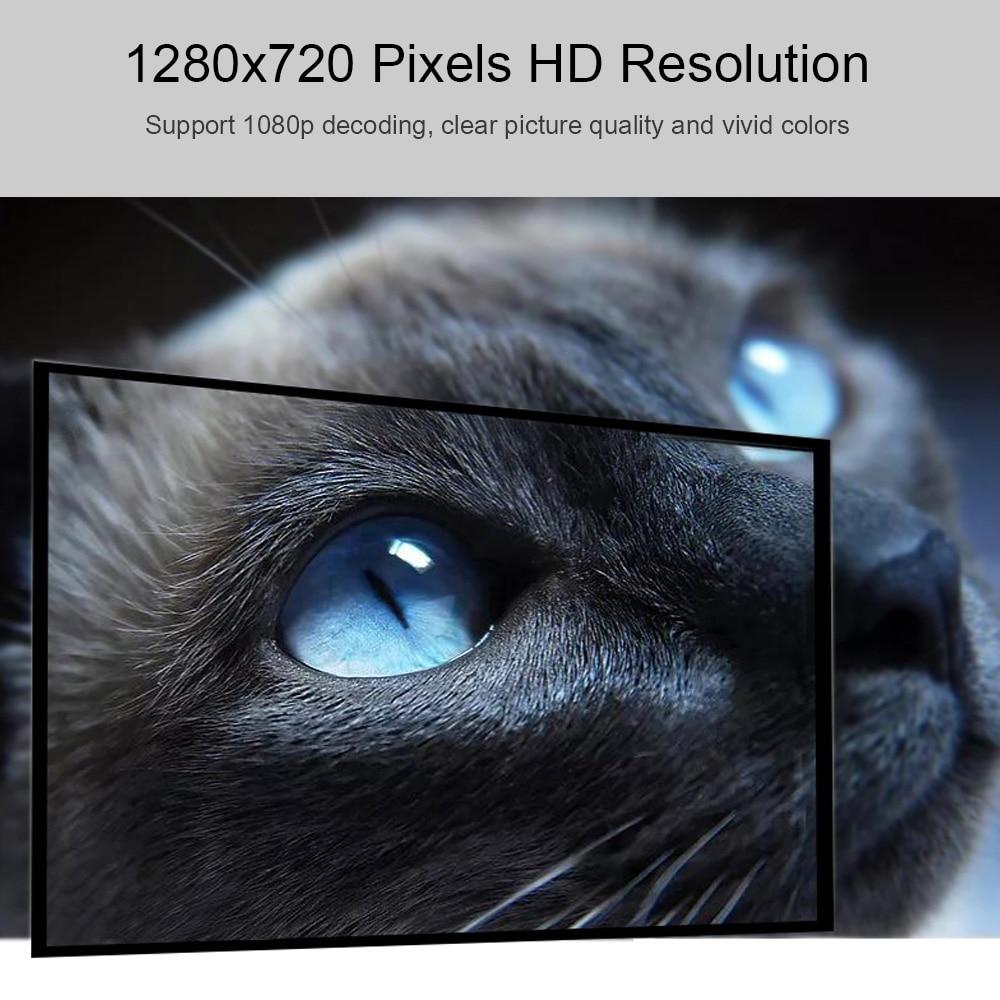 UNIC T6 LED 3200LM Projektor 1080P Full HD HDMI WIFI LCD Heimkino Media Player Android Beamer Telefon Sync bildschirm