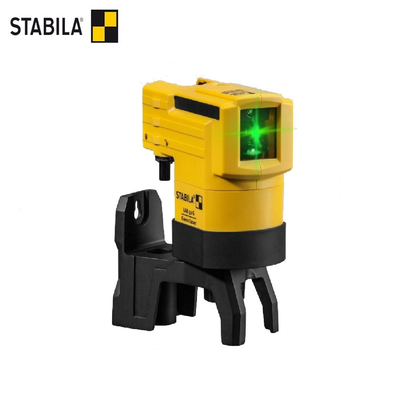 STABILA Laser level LAX 50G (green beam, range 30m, accuracy 0.5mm / m) Self Leveling 360 Horizontal Vertical Laser high accuracy new self leveling rotary rotating laser level 500m range