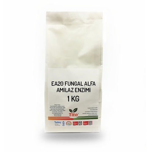 Tito EA20 Fungal Alpha Amylase Enzyme 1 Kg