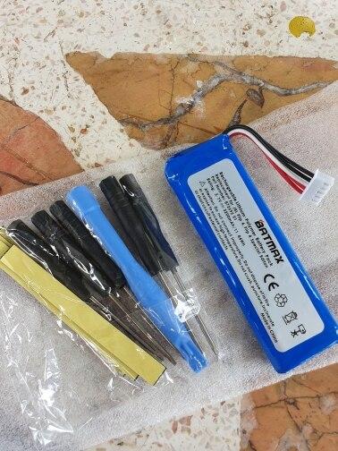 Batterie 3.7V 3200mAh GSP872693 01 pour JBL Charge 4 JBL FLIP 4, FLIP 4 édition spéciale