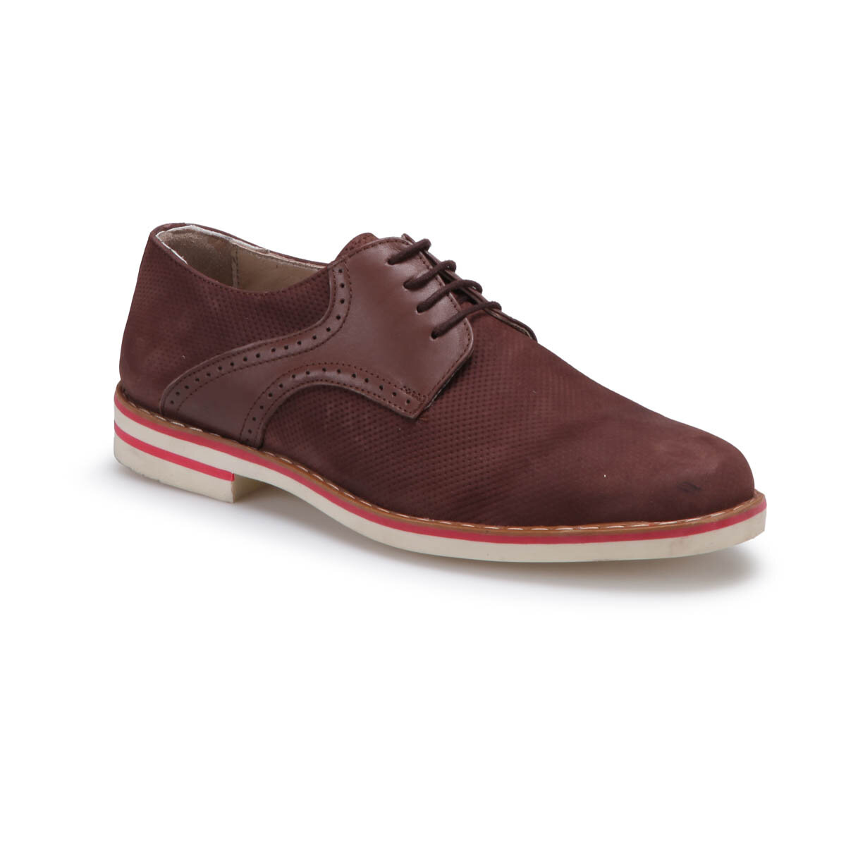 FLO PRG-5 M 6683 Brown Men 'S Modern Shoes Garamond
