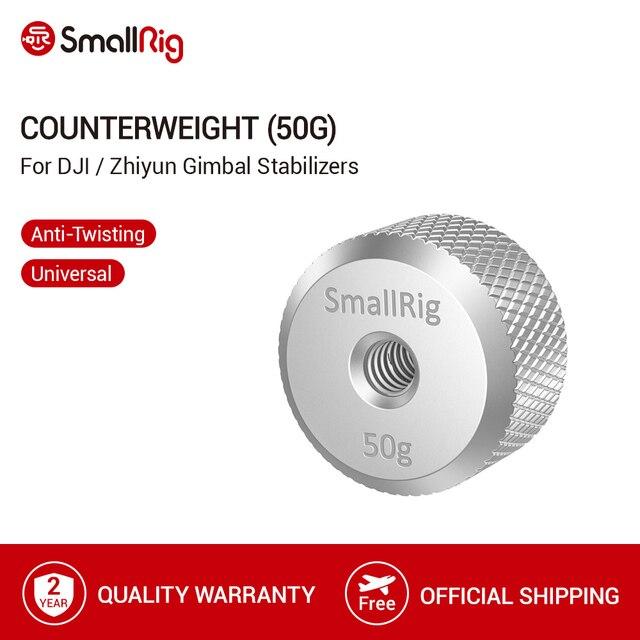 Przeciwwaga SmallRig (50g) do stabilizatorów DJI ronin s/ronin s i zhiyun tech przeciwwaga 2459