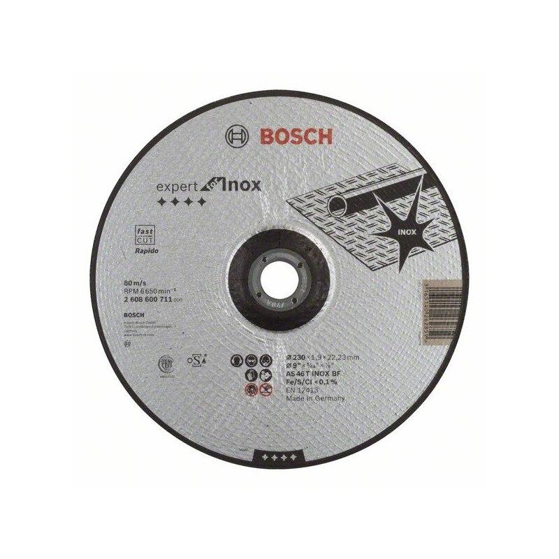 BOSCH-metal Cutting Disc Expert Inox-Rapido AS 46 T INOX BF, 230, 1,9