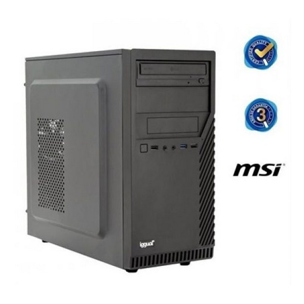 Desktop PC Iggual PSIPCH422 I5-8400 4 GB RAM 500 GB HDD Black
