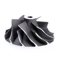 Roda 29/40mm 6 + 6 do compressor do turbocompressor de kinugawa para mitsubishi TD025S2 06T 49173 07508/para citroen c3 c4 wheels wheel wheel compressor wheels for -