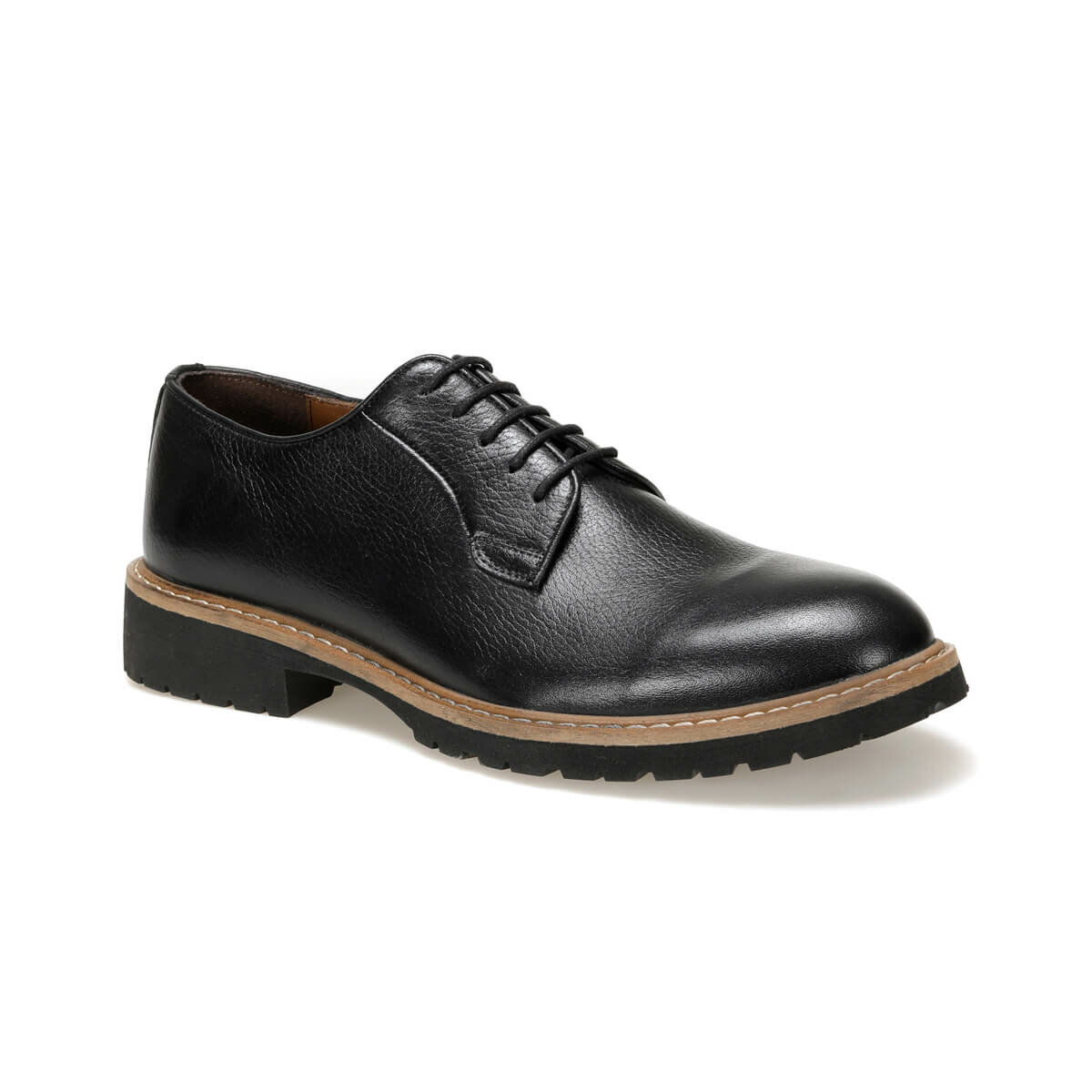 FLO 3693 Black Men 'S Classic Shoes Garamond