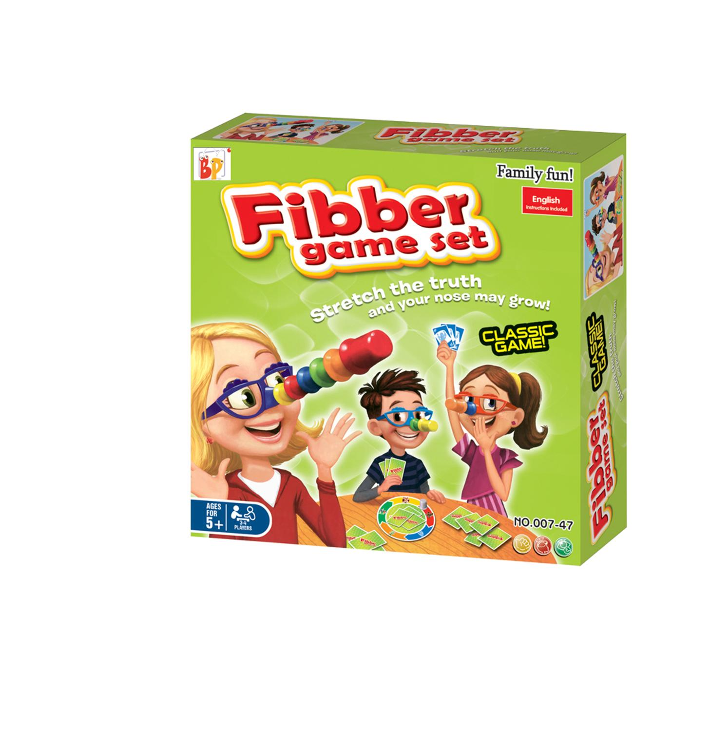 Truth or Lying: Game of Table (game of L liar, Fibber game set, order child juego, card game, truth or lying)