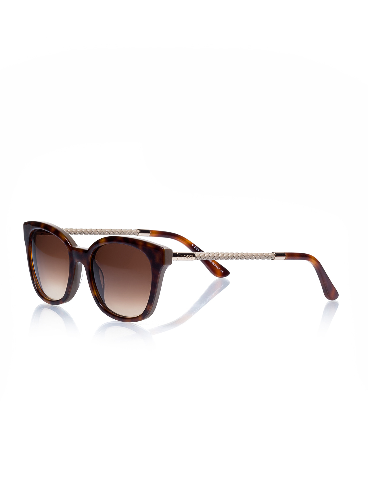 Women's sunglasses to 0151 59f bone Brown organic square square 52-19-140 tods