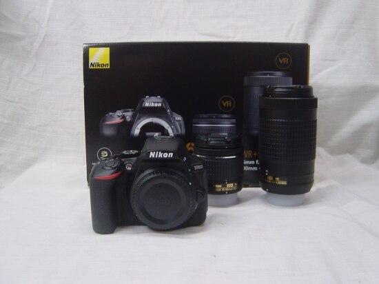 Nikon D5600 DSLR Camera & AF-P 18-55mm & AF-P 70-300mm VR Twin Lens Kit