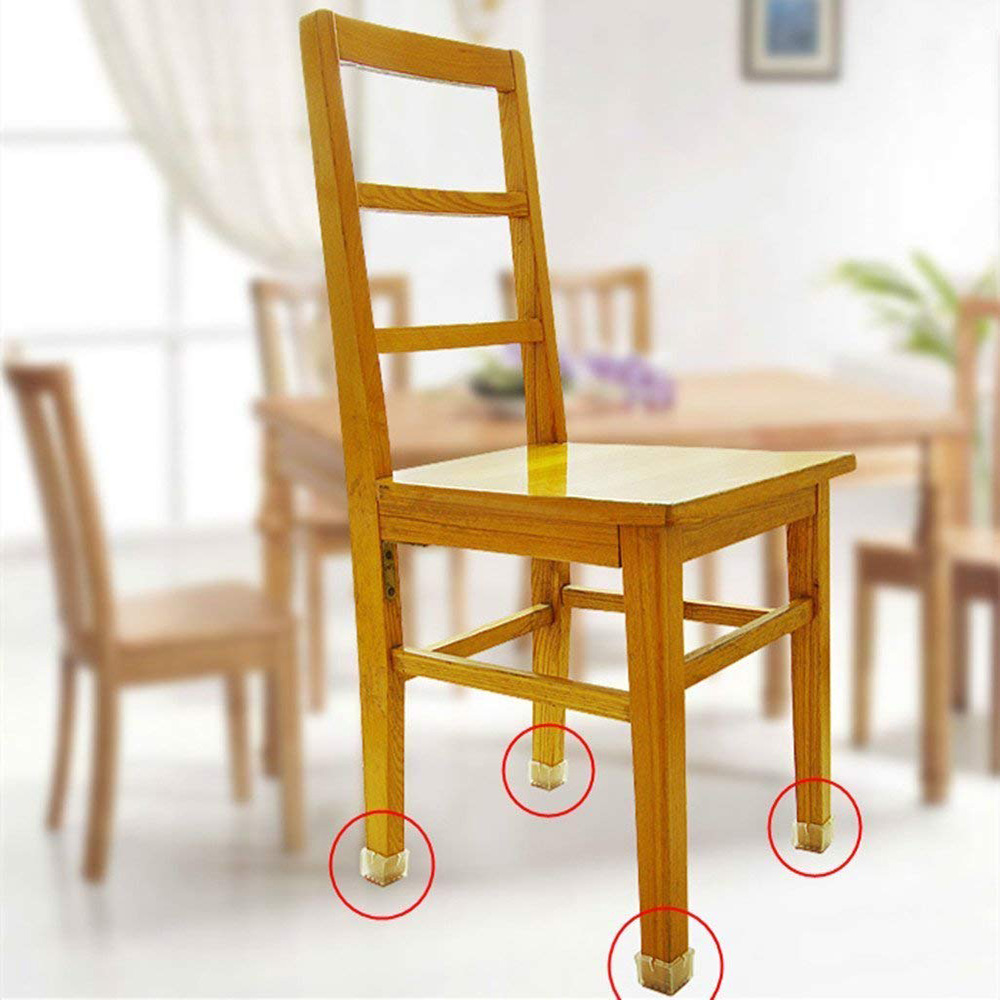 Furniture Silicone Table Chair Leg Caps Cover Non-slip Leg Caps Foot Protection Cover Pads Floor Protector Home Decor