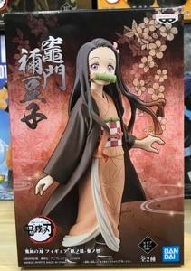 Image 2 - In stock Original Demon Slayer Kimetsu no Yaiba figure Nezuko Kamado PVC action figure model Figurals