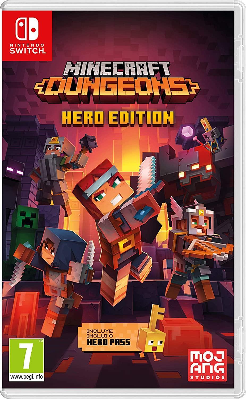Minecraft Dungeons Switch Videojuegos Juegos Nintendo Nintendo Switch Aventuras Y Plataformas Edad 7+