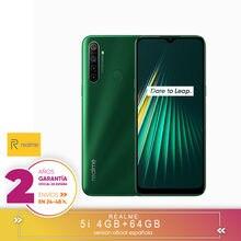 [Versión Garantía Española Oficial] Realme 5i 4GB 64GB Snapdragon 665 AIE 12MP Quad Cámara 6,5
