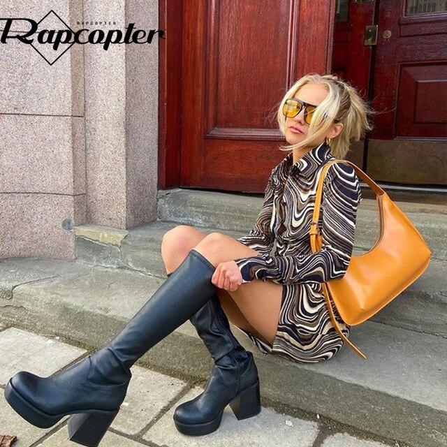 Rapcopter Paisley Brown Mini Dress y2k Aesthetic Sundress Turn Down Collar Vintage Short Dress Button Skinny Bodycon 2021 90S 3