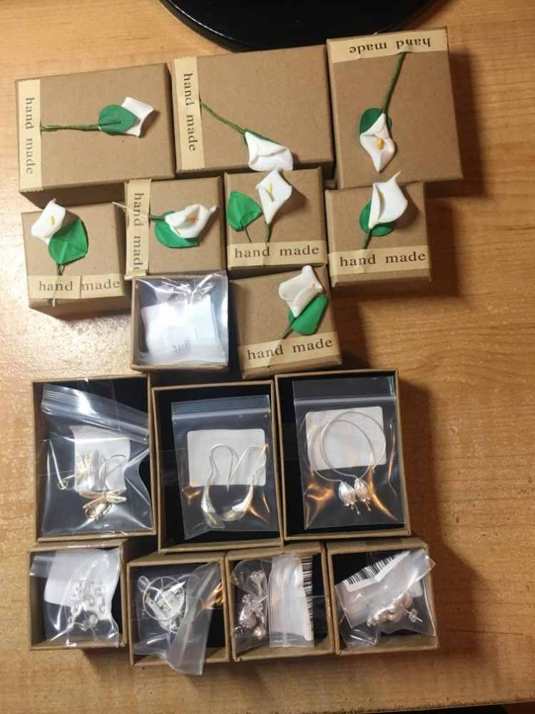 Lotus Fun реальные стерлингового серебра 925 натуральный жемчуг ручной работы Fine Jewelry треугольник Water Drop Висячие серьги для женщин с Алиэкспресс