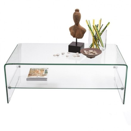 Coffee Table Murano Curved Gl And