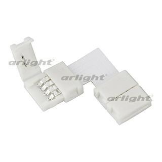 023961 Connector Corner FIX-RGB-10mm-L Пакет-10. ARLIGHT-Светодиодная Tape/Accessories/connector/Connector ^ 38