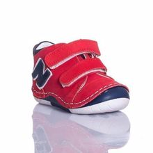 MyWondry Real Leather  Red Baby Girl Anatomical First Step Shoes