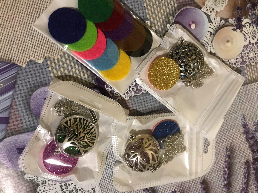 Collier arbre de vie ou géométrie sacrée diffuseur de parfum