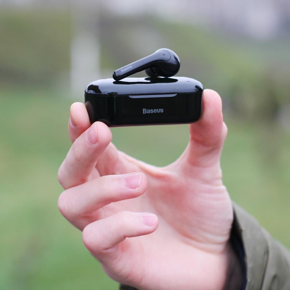 Baseus W07 Bluetooth Earphone TWS Wireless Bluetooth Earphone 3D Stereo Sports Wireless Earphones with Dual Noise reduction Mic|Bluetooth Earphones & Headphones| |  - AliExpress