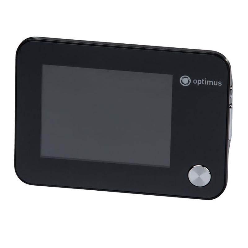 Видеоглазок Optimus DB 01. Экран: 3.5', microSD, угол 120°, запись фото/видео, питание от батареек, ИК подсветка, календарь/часы|Видеодомофон|   | АлиЭкспресс