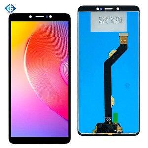 Image 2 - 6.0 voll Lcd Für Infinix Smart 2 HD X609 LCD Display Touchscreen Digitizer Montage Ersatz Teile Für Infinix x609 Bildschirm