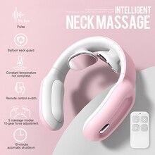 3 Modes 15 Levels Wireless Smart Neck Massager Shoulder Massage Pain Relief Vibration Relaxation Cer
