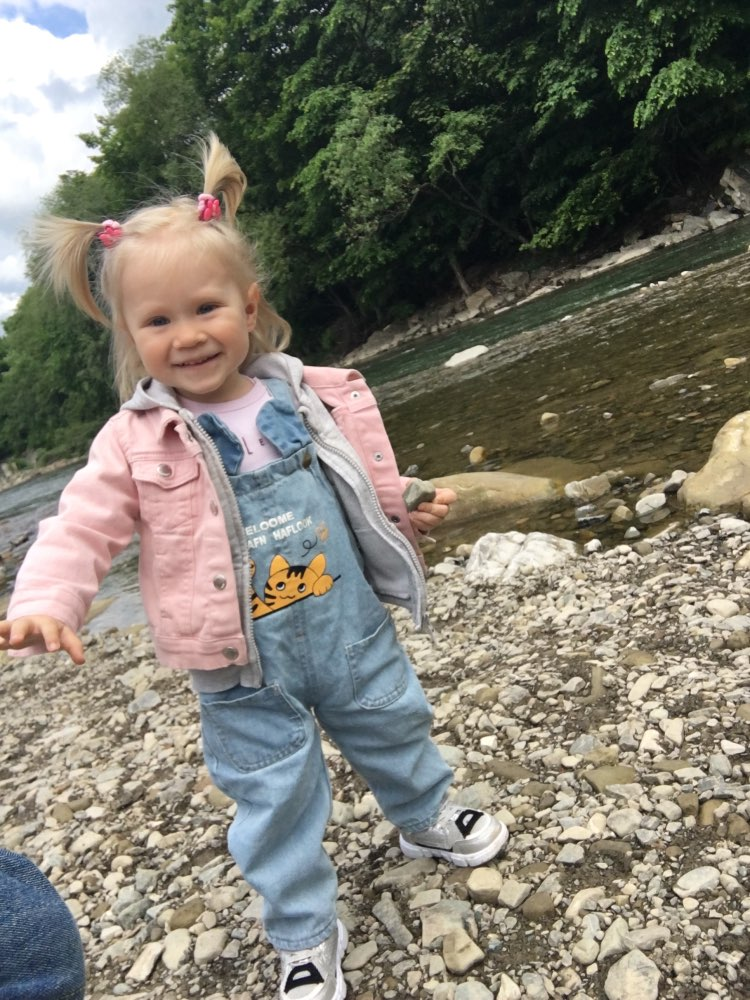 IENENS Baby Girl Overalls Kids Casual Trousers Jumpsuit Toddler Infant Denim Dungarees Child Boy Jeans Playsuit photo review