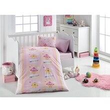 Ebebek маленькие сны ребенок цыпленок узорчатый пододеяльник набор