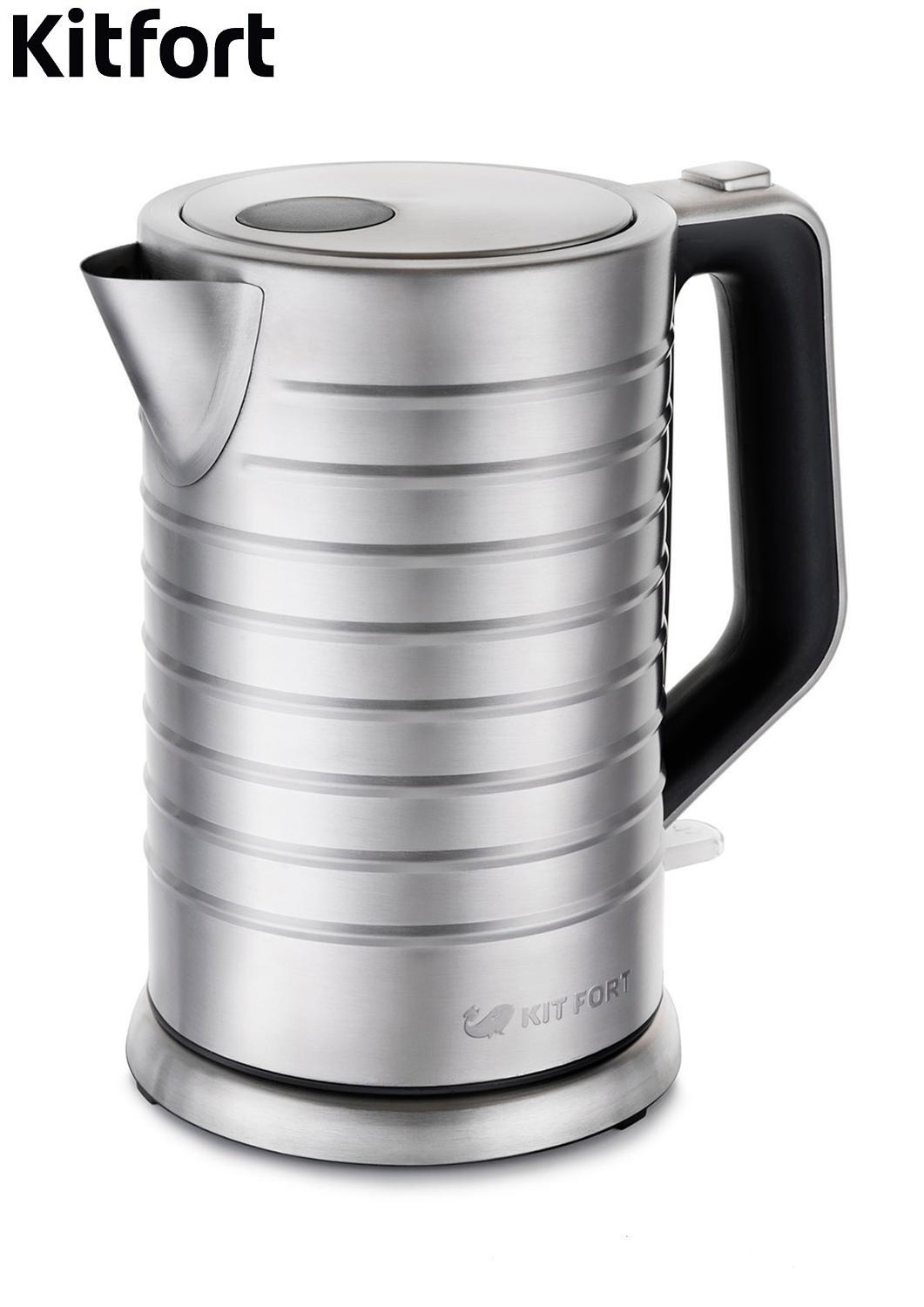 Electric Kettle Kitfort KT-627 Kettle Electric Electric kettles home kitchen appliances kettle make tea Thermo