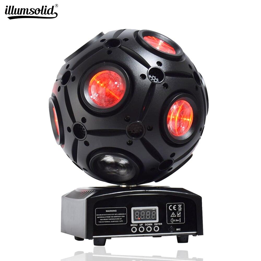 9x12w RGBW 4in1 LED Beam Light Football Light DMX512 Football Moving Head Light Professional DJ /Bar /Party /Show /Stage Light