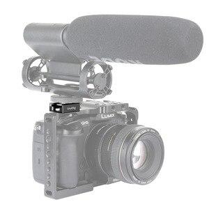 """Image 3 - Adaptateur de sabot à froid avec deux flexion sécurisées Compatible pour accessoires de caméra universels avec filetage 1/4 """" 1960"""