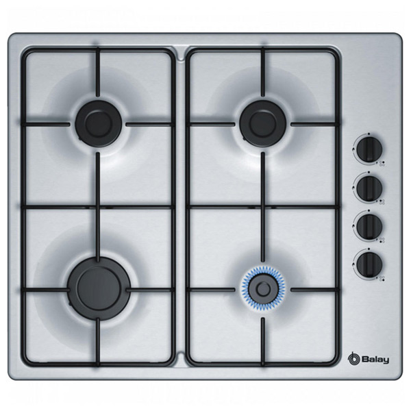 Gas Hob Balay 3ETX464MB 60 Cm 60 Cm Stainless Steel (4 Stoves)
