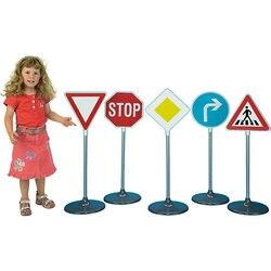 Game set Klein Road signs
