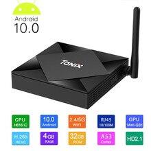Tanix Tx6s Smart Tv Box Android 10 4g 64gb Allwinner H616 Qu