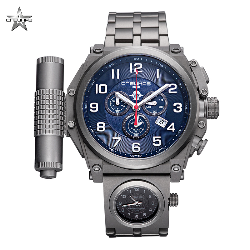Наручные кварцевые часы Спецназ 5 Стихий С9150338 5130.D Кварцевые часы      АлиЭкспресс