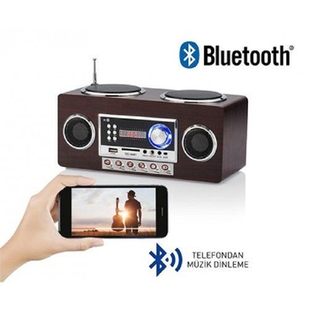 QUALITY TURKISH TRADEMARK   GOLDMASTER IDANCE RETROMAX PORTABLE BLUETOOTH SPEAKER AND RADIO   CARGO INCLUDED