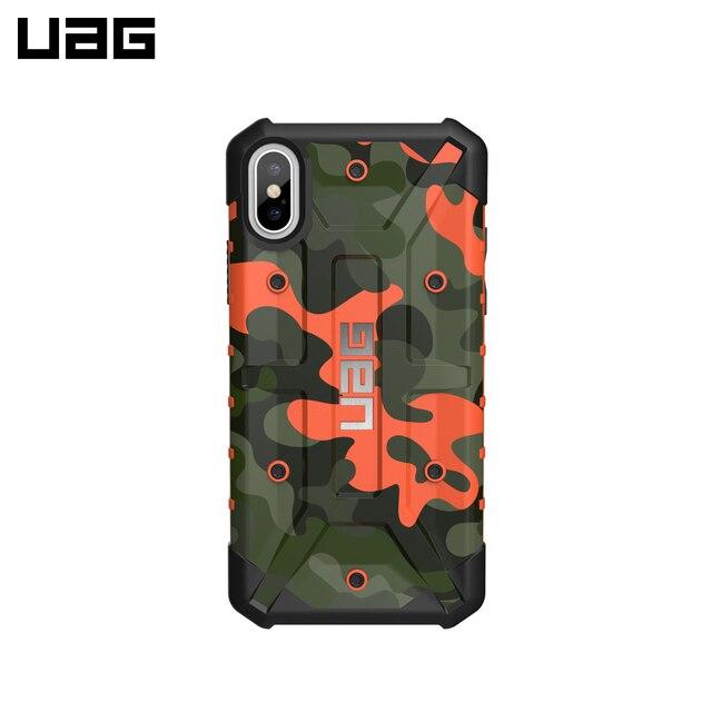 Защитный чехол UAG Pathfinder для iPhone X цвет Оранжевый Камуфляж/IPHX-A-RC/32