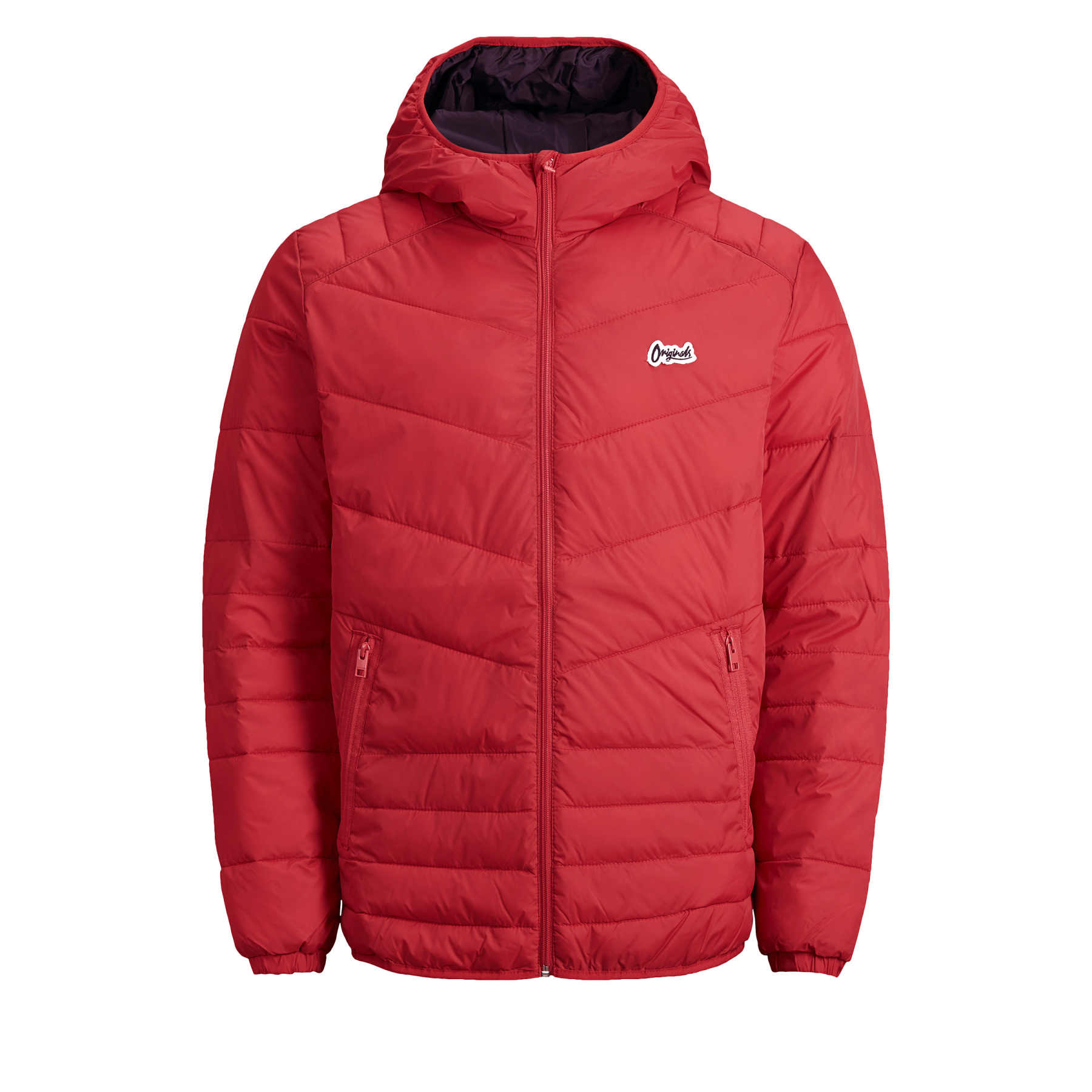 Jack and Jones Men/'s Jacket Bend Light Weight Water Repellent Puffer Hooded Zip