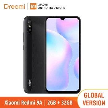 Купить Глобальная версия Xiaomi Redmi 9A 32 ГБ ROM 2 Гб RAM (абсолютно новый/Герметичный) redmi9, redmi9a 32, смартфон, мобильный телефон, Смартфоны