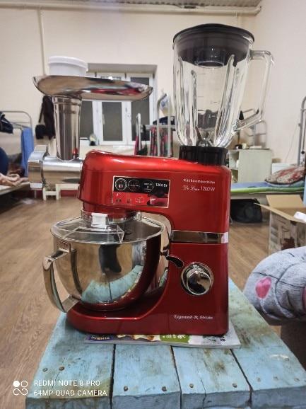 Food Processors Zigmund & Shtain De Luxe ZKM 950 kitchen machine grinder Blender red stand planetary mixer Home appliances for kitchen|Food Processors|   - AliExpress