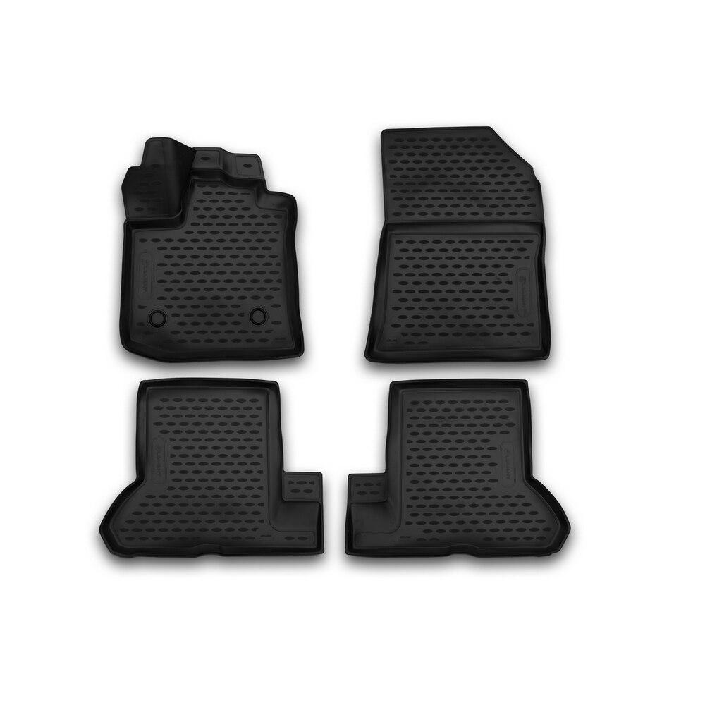 3D mats in the interior for RENAULT Dokker  2018  4 PCs ELEMENT3D4153210k   - title=