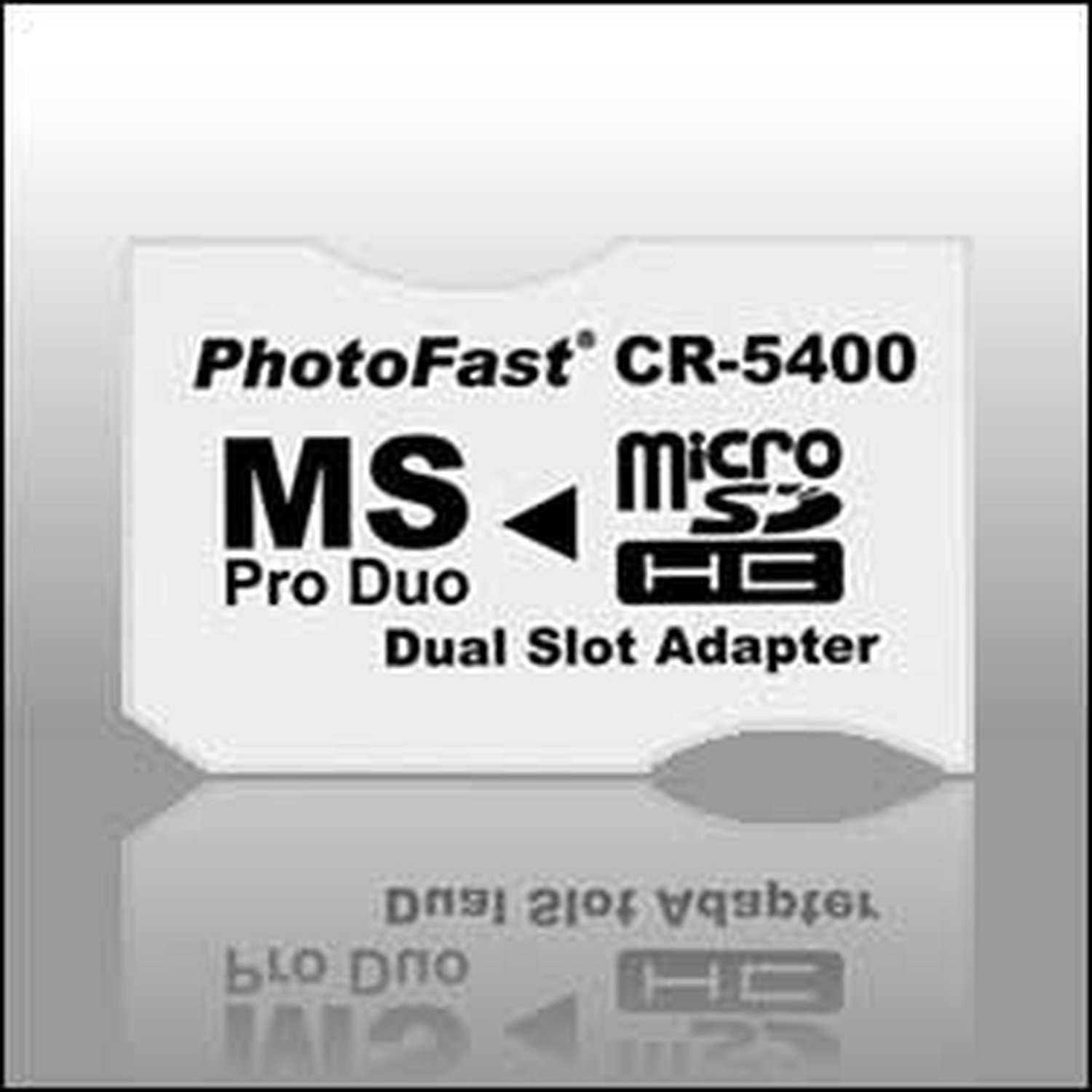 Adapter 2xMicroSDHC To MS Pro Duo