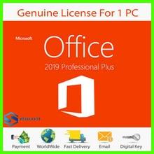 Office 2019 Professional Plus, Licence avec Instructions d'installation dans toutes les langues