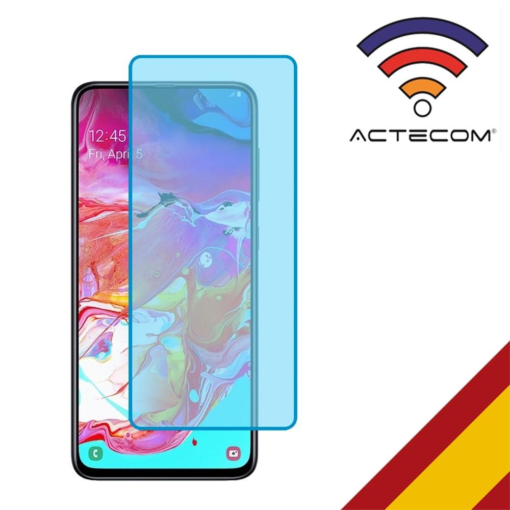 ACTECOM Protector De Pantalla Cristal Templado Compatible Con Samsung Galaxy A10 A20 A20E A40 A50 A60 A70 A71 A80 Elige Modelo