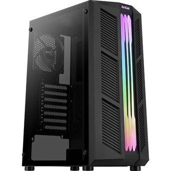 Aerocool Prime RGB v3 2x12cm Fan RGB Led Strip USB 3.0 Computer case (AE-PRM-V3) 1
