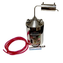 Дистиллятор МАЛИНОВКА Эконом 12ТС 12 литров самогонный аппарат, домашний алкоголь, перегонка браги