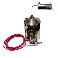 Distiller МАЛИНОВКА Economy 12ТС 12 liters moonshine apparatus, home alcohol, distilling браги