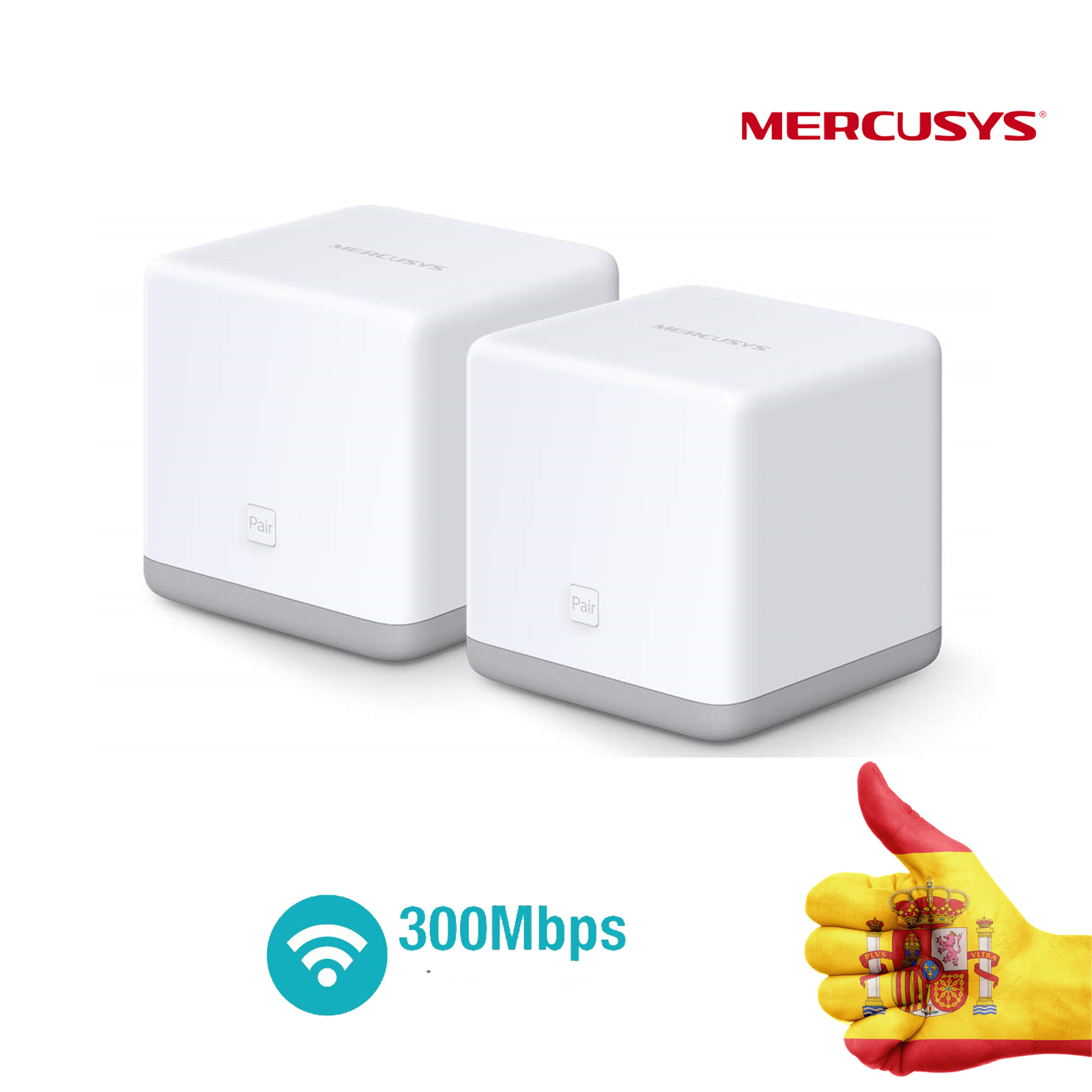WHOLE HOME MESH WI-FI SYSTEM 300 MBPS MERCUSYS